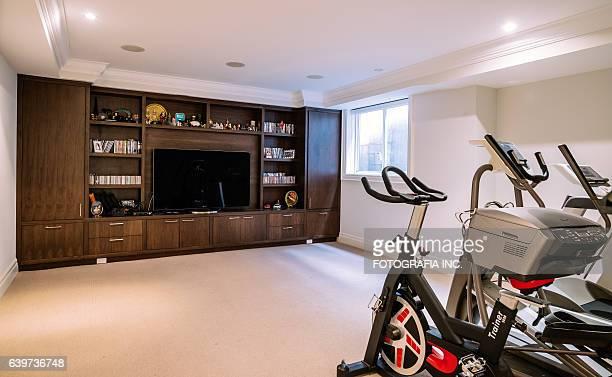 Modern Basement interior
