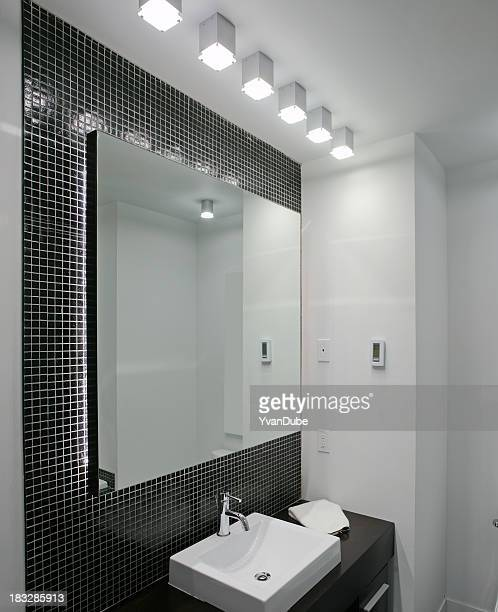 モダンなバスルーム