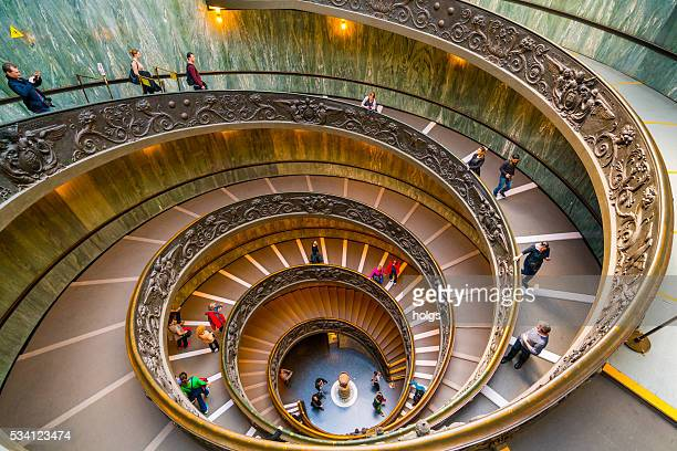 Modern Bramante Staircase in Vatican