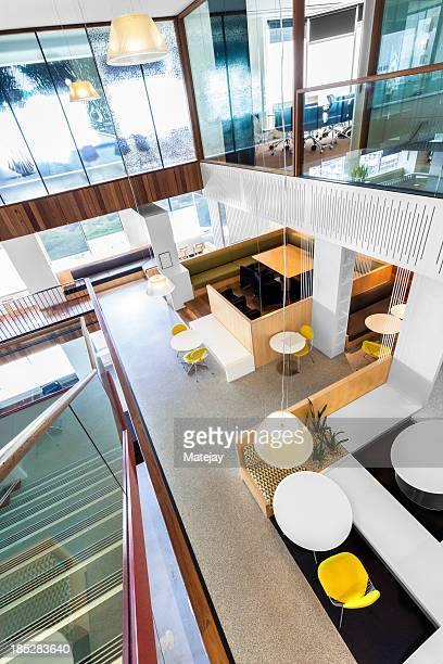 Modern, brightly lit office space