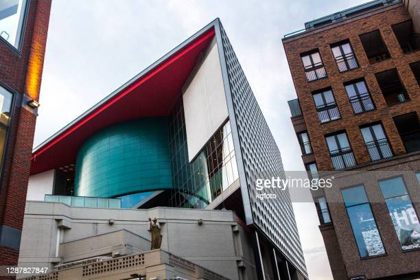 現代の建物、現代音楽の複合施設、ユトレヒト、オランダ - ユトレヒト ストックフォトと画像