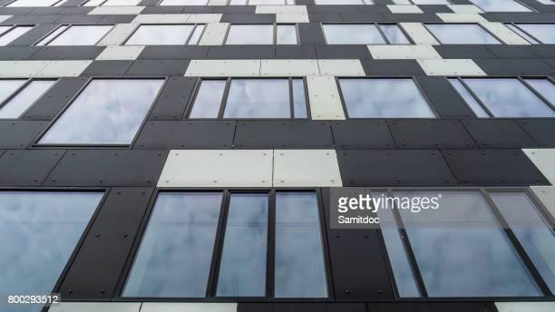 Modern building detail,Copenhagen, Denmark.