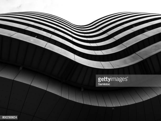 modern building detail,copenhagen, denmark. - architecture stock pictures, royalty-free photos & images