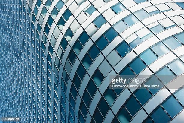 Modern building facade, full frame