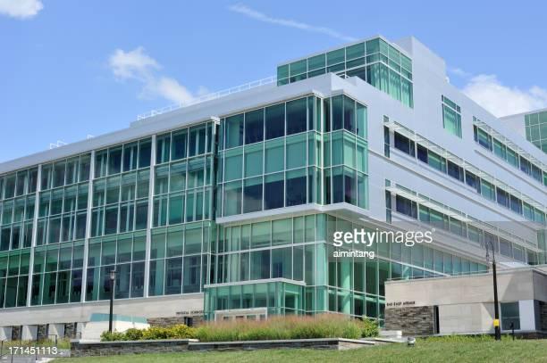 Modern Building in Cornell University