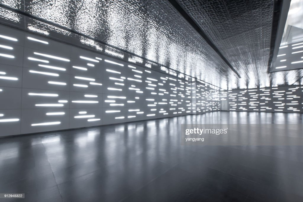 Modern building indoors : Stock Photo