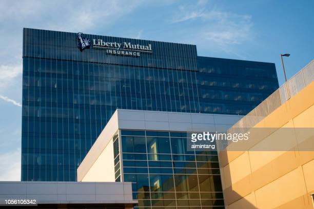 Modern building of Liberty Mutual Insurance at Legacy West Development in Plano
