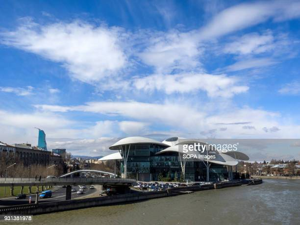 Modern building of Ministry of Justice and Civil Registry Agency near the Kura River in Tbilisi Tbilisi is the capital of Georgia and it is also the...