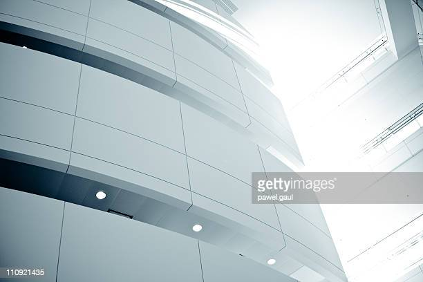 modern building - curve stock photos and pictures