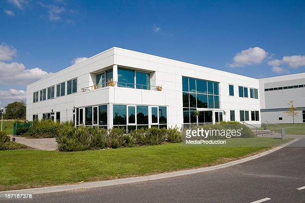 modern building - headquarters stock pictures, royalty-free photos & images