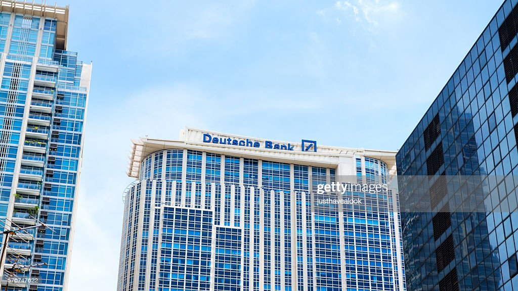 Modern Buildings And Deutsche Bank In Bangkok Stock Photo Getty Images