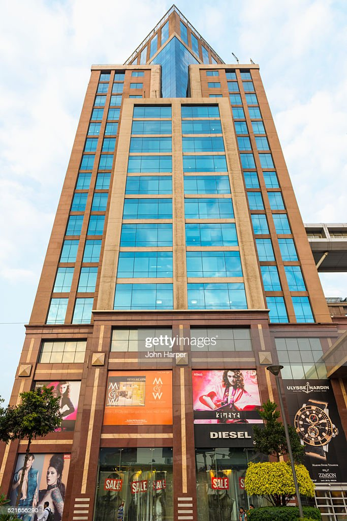 modern buildings bangalore india stock photo getty images