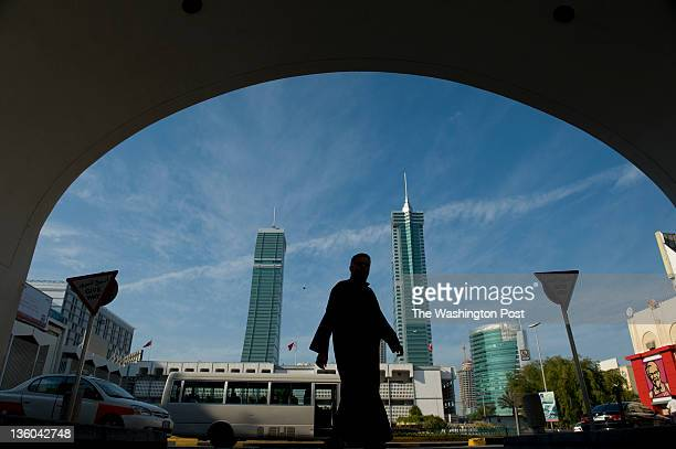 Modern buildings dot the skyline in Manama Bahrain on Saturday December 10 2011