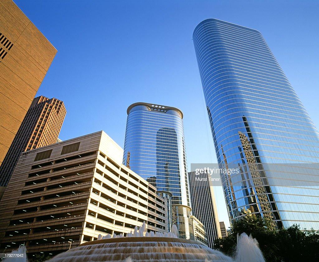 Modern buildings in a city : Foto de stock
