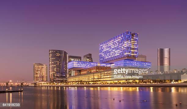 Modern buildings in Abu Dhabi