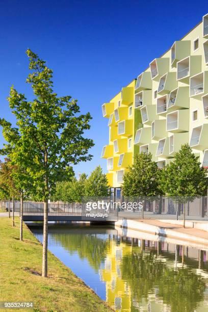 Modern buildings in Copenhagen