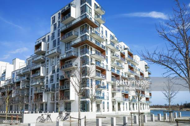 modern buildings in kopenhagen - boris stock photos and pictures