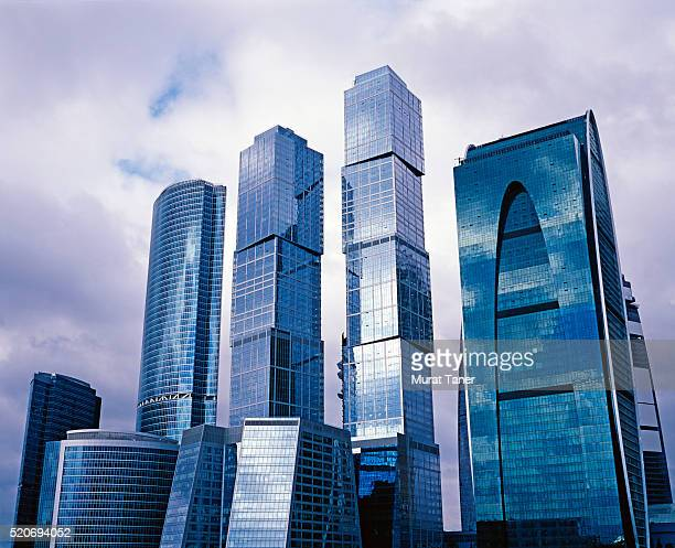 Modern buildings in Moscow