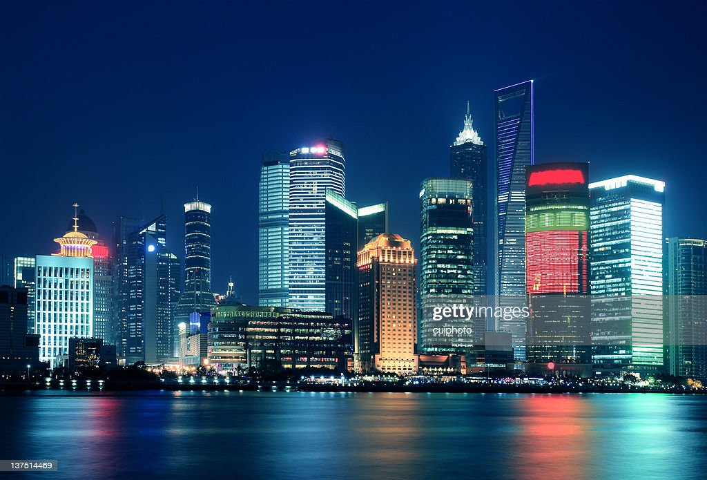 modern buildings in shanghai china stock photo getty images