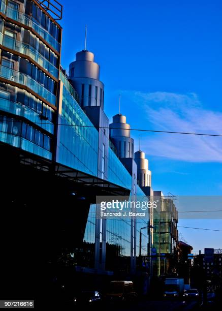 modern buildings in tallinn - bavosi stock pictures, royalty-free photos & images
