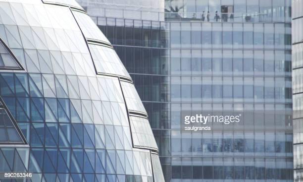 modern buildings pattern - ロンドン サウスバンク ストックフォトと画像