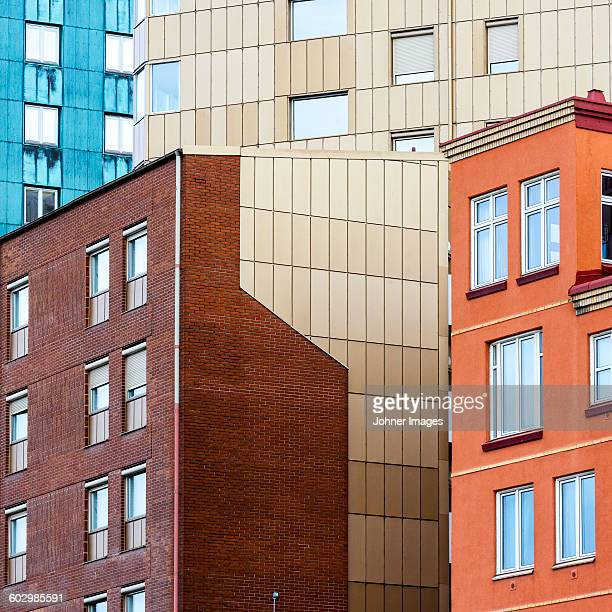 modern buildings - gothenburg stock pictures, royalty-free photos & images