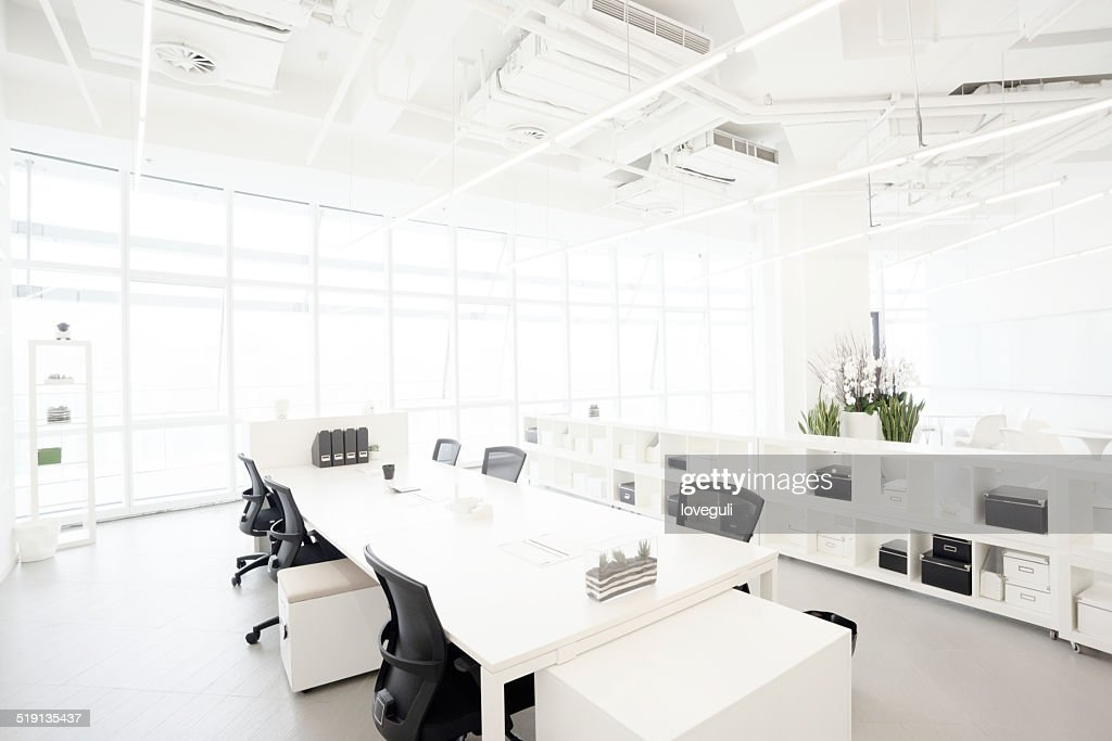 Modern business building office  interior in Urban city : Stock Photo