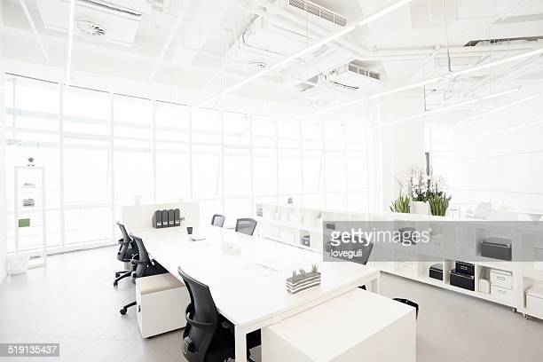 Modern business building office  interior in Urban city