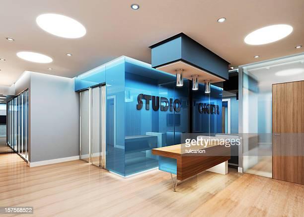 Moderne Business-Einrichtung