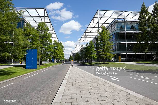 modern business park (xxxl) - business community stock pictures, royalty-free photos & images