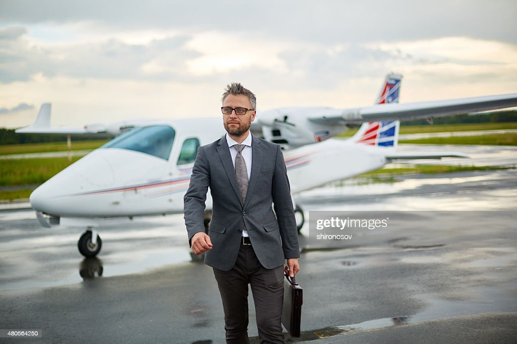 Modern businessman : Stock Photo