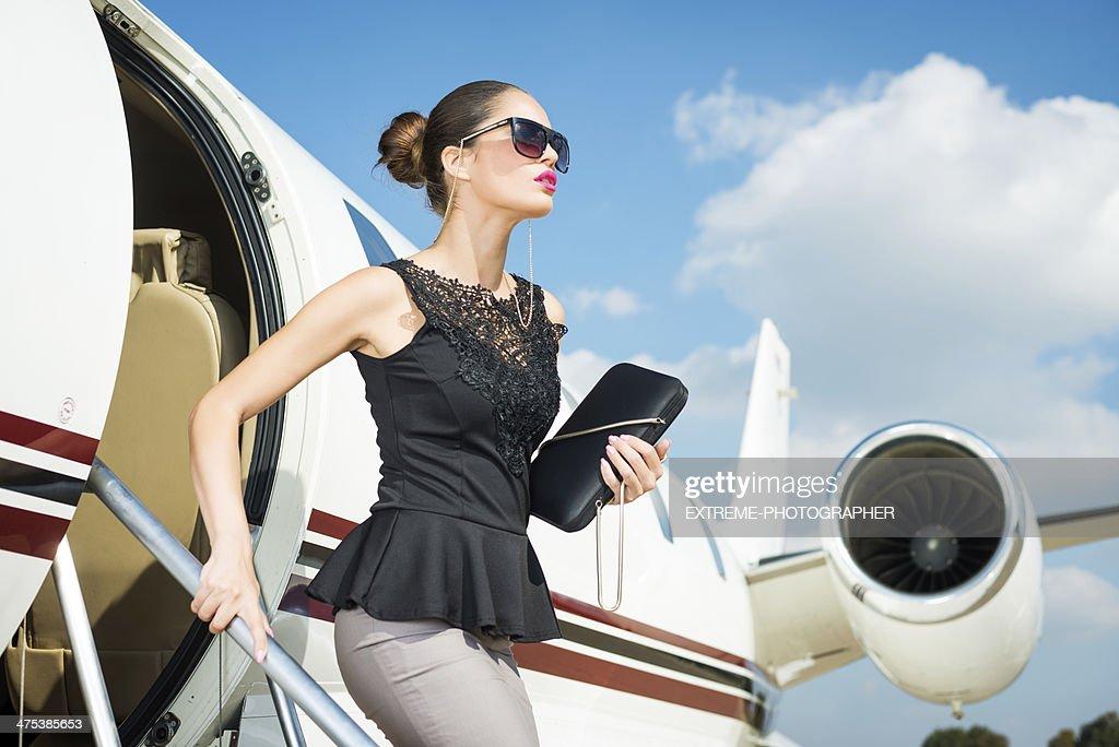 Modern businesswoman : Stock Photo
