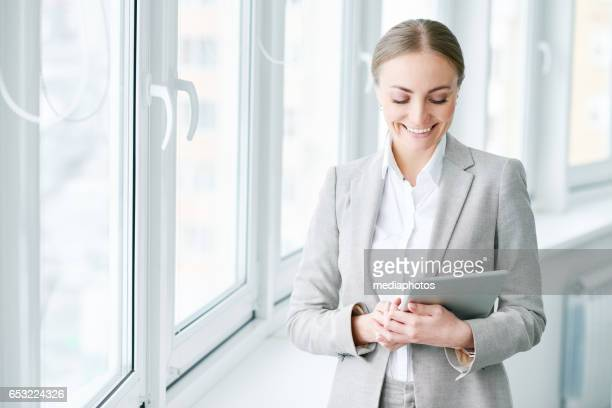 Modern businesswoman