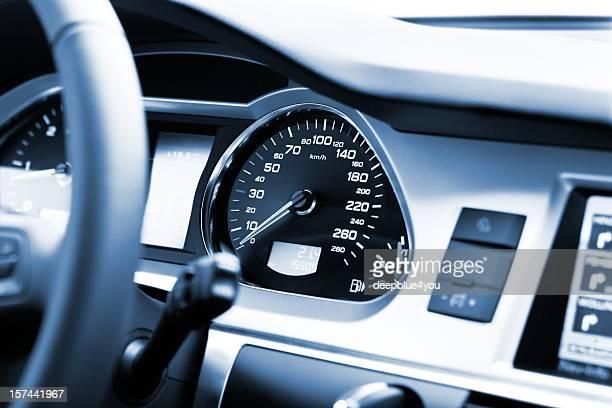 Moderne Auto cockpit