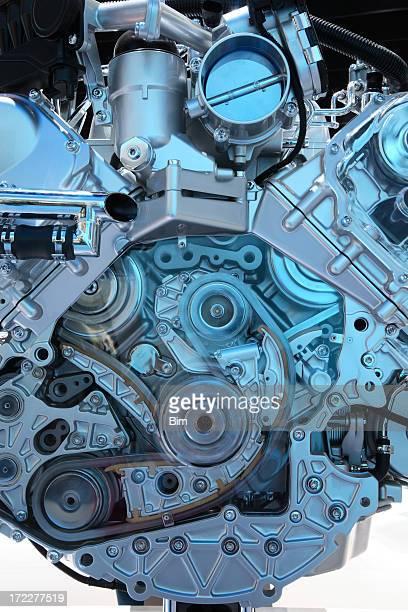 Moderne Auto-Motor