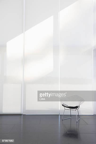 Modern Chair In Empty Loft