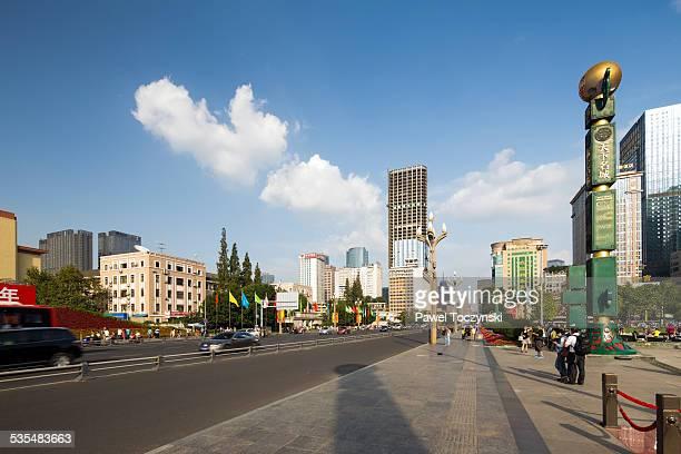 Modern Chengdu at Tianfu Square