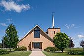 Modern Christian Church in Northern Minnesota, USA