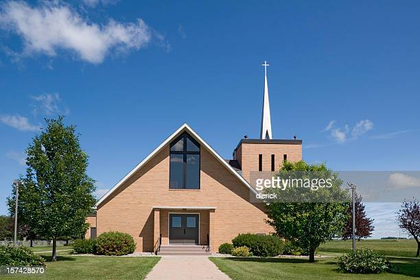Modern Christian Church in Northern Minnesota, USA