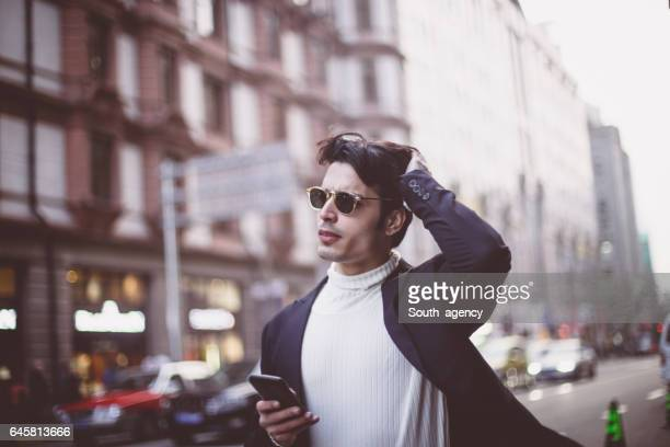 Modern city gentleman