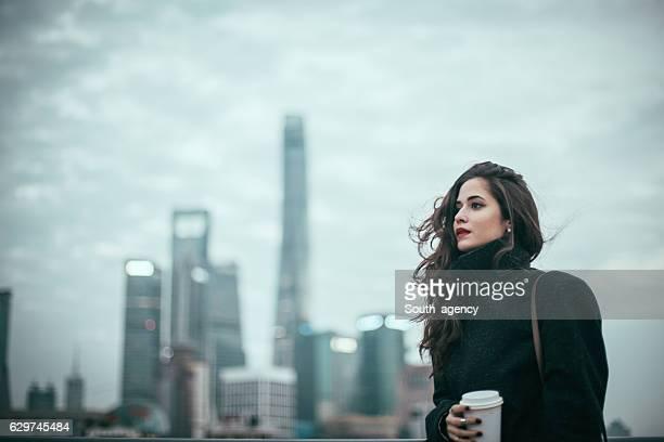 Modern city lady