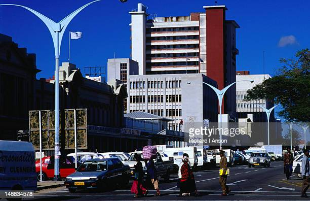 Modern city of Bulawayo