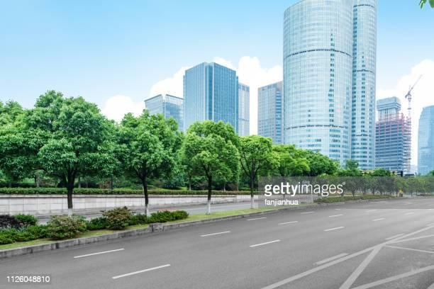 modern city road,shenzhen - 市街地の道路 ストックフォトと画像