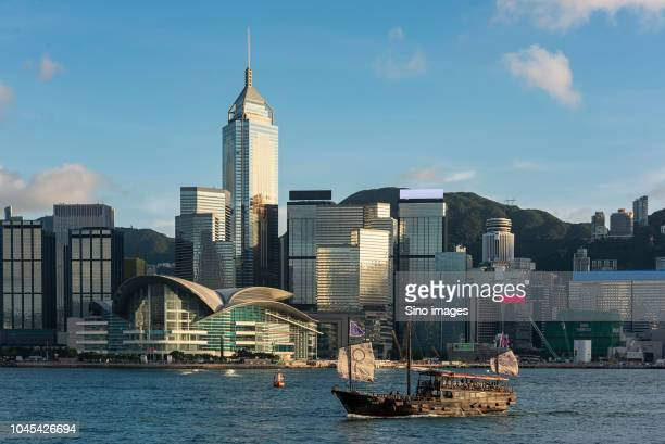 modern cityscape during daytime, hong kong, china - hong kong stock pictures, royalty-free photos & images