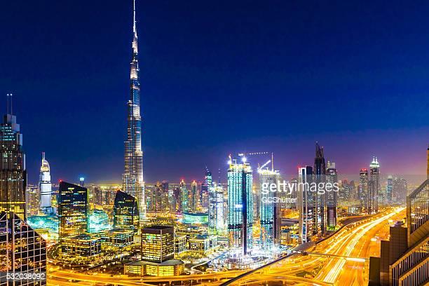 Modern Cityscape of Dubai, United Arab Emirates
