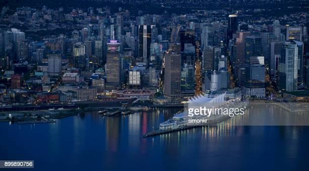 Modernen Stadtbild mit Canada Place