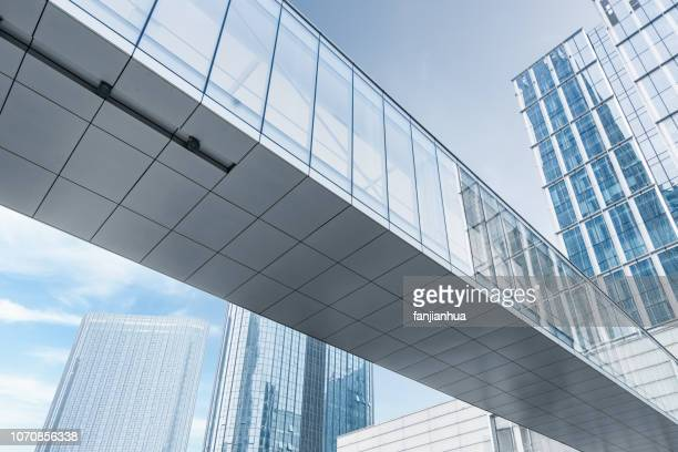 modern city,suzhou - elevated walkway stock pictures, royalty-free photos & images