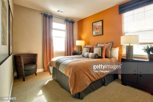 Modern, comfortable bedroom