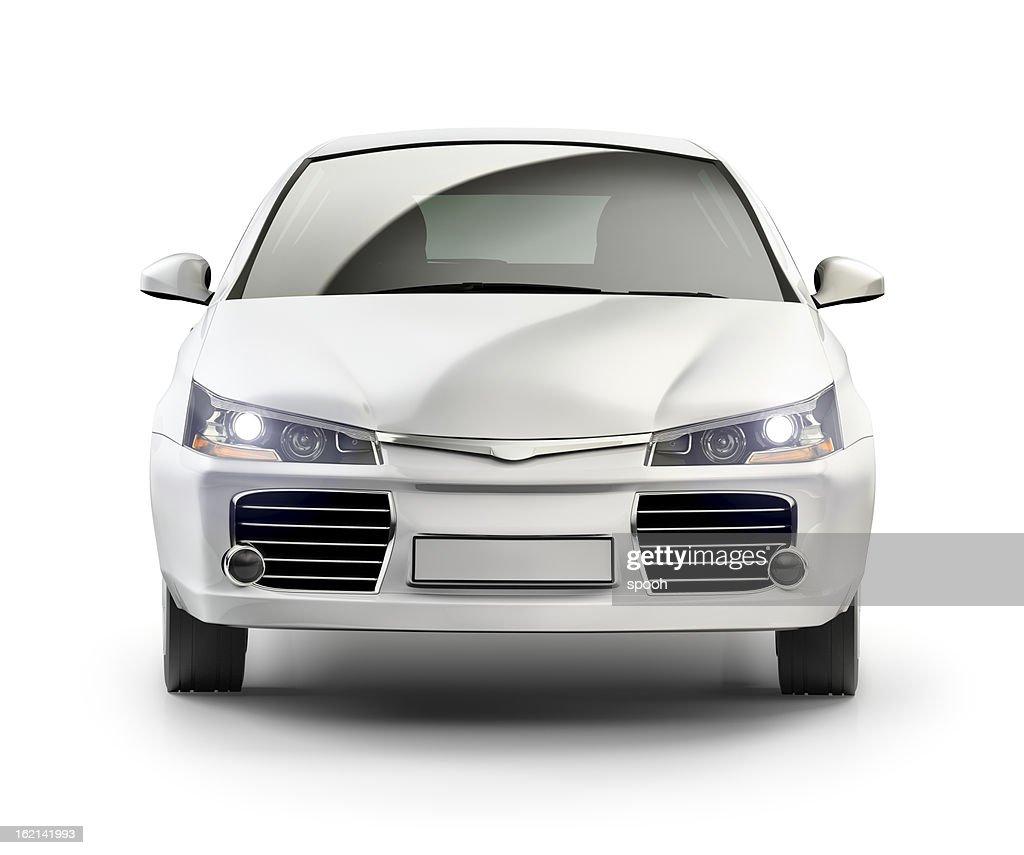 Moderno auto compatta in studio. : Foto stock