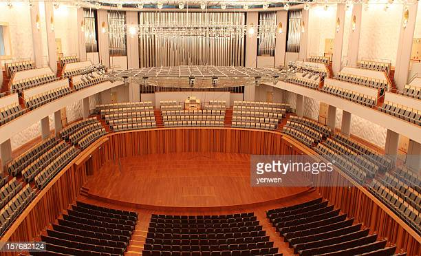 modern concert hall - concert hall stock pictures, royalty-free photos & images